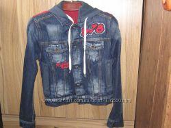 Продам стильную джинсовую курточку