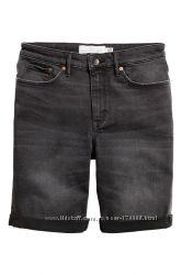Джинсовые шорты бриджи H&M размер S, XS