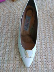 Туфли женские белые бу 38 р.