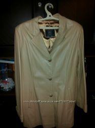 Пиджак, куртка кожаная  , размер  L