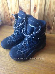 Зимние ботинки Lowa Gore-tex мальчику, 31р, стелька 20, 4 см. идеальное сост