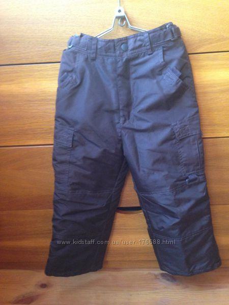 Зимние брюки ROTSHILD на возраст 5-6 лет, новое состояние.
