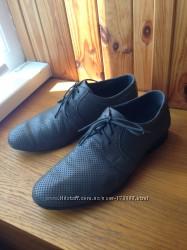 Туфли мужские Monarh 41р стелька 27, 5 см отличное состояние