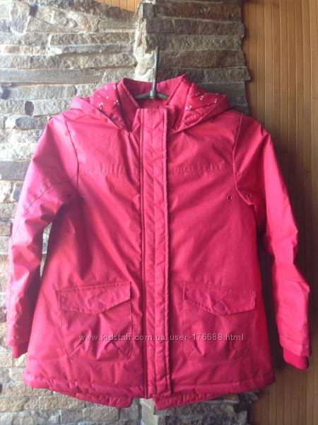 Куртка весна-осень LC  WAIKIKI девочке р 122-128 отличное состояние