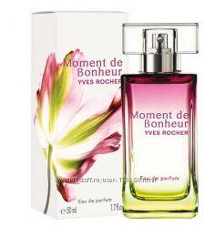 Парф. вода Moment de Bonheur Yves Rocher Момент счастья Ив Роше 50мл