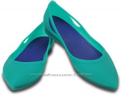 Туфли-балетки  Crocs  W8