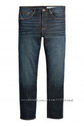 Джинсы мужские 360 Tech Stretch Jeans от H&M 32х32