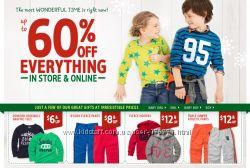 Детская одежда Carters, OshKosh и Crazy8 Выгодные уловия