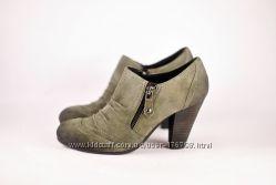 Туфли My Shoes 36 р натуральная замша и кожа Распродажа 2-я пора в подарок