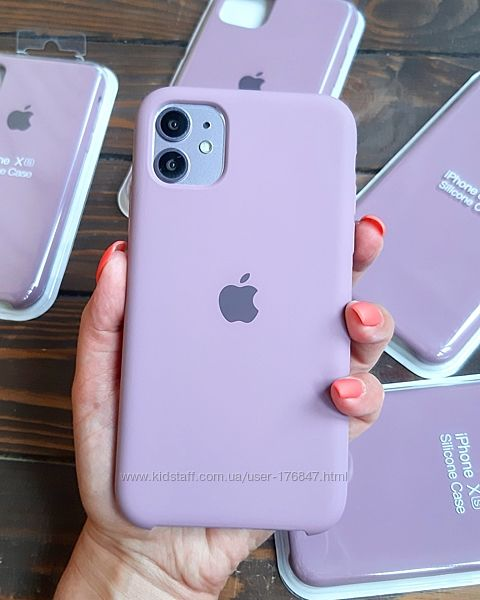New Чехол Apple Silicone case Bluberry