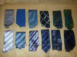 Мужские галстуки брендов George, Next , Marks & Spencer , Burton, H. Boss