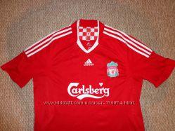 Игровая клубная футболка Adidas Liverpool FC football L  Amos 18