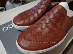 ECCO Soft 7 Woven Slip-On новые мокасины слипоны туфли