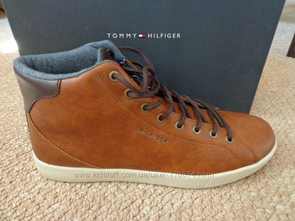 Новые мужские кожаные ботинки Tommy Hilfiger Talis кеды
