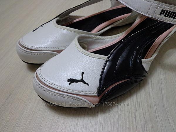 Женские балетки босоножки Puma