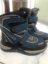 Термо ботинки зимние Jack wolfskin 33 р