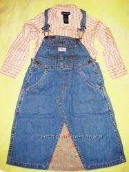 Фирменный комплект рубашка и сарафан RALPH LAUREN