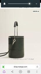 Оригинальная сумка в форме цилиндра Mango