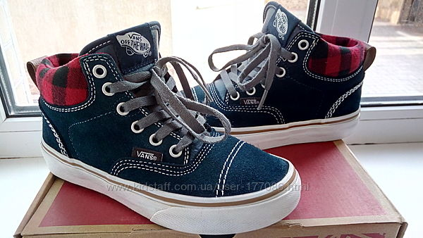 Крутые  ботиночки  оригинал  Vans