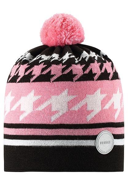Демисезонная шапка для девочки Reima. Размеры 48-58