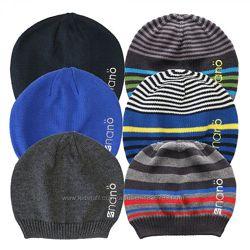 Демисезонные шапкм для мальчиков NANO, Канада. Размеры 12 мес  - 14 лет