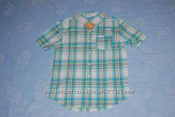 Рубашка с коротким рукавом Crazy, 8 размер Л