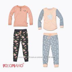 Пижамы из хлопка, Pocopiano Германия, для мальчиков и девочек