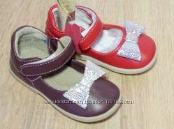 Кожаные туфли ТМ Берегиня в 2-х цветах размеры 21