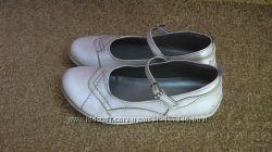 Кожаные туфельки Италия, стелька 19, 5см