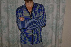 Добротная кофта, мужской кардиган размер - l рост - 180 no excess