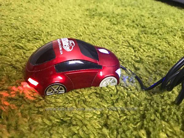 Проводная оптическая мышь автомобиль машина со светодиодами