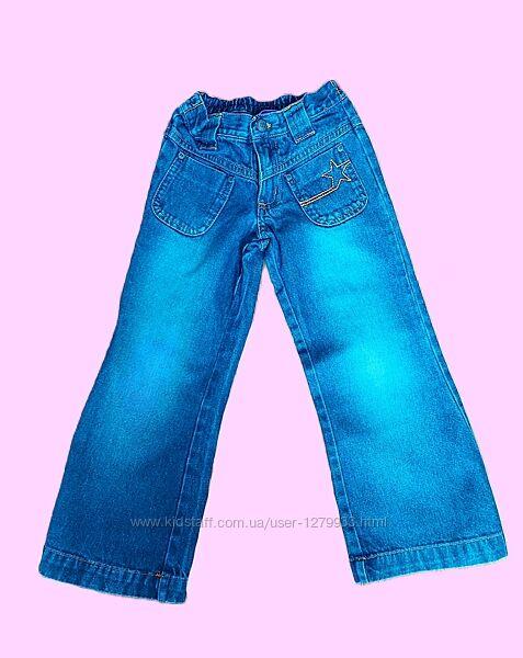 Красивые фирменные джинсики AGE на красавицу 2-4 лет. Идеал