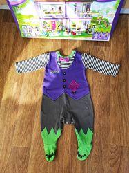 Шикарный фирменный человечек Хеллоуин на мальчика 3-6 мес. Идеал