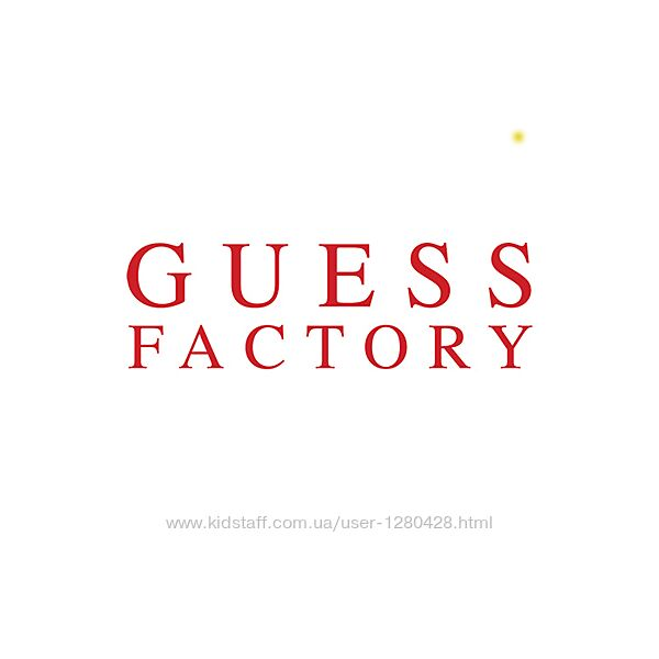 Guess Factory Америка оригинал