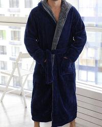 Мужские махровые халаты с капюшоном