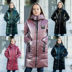 Пальто зимнее для девочки минисо122-152р 38