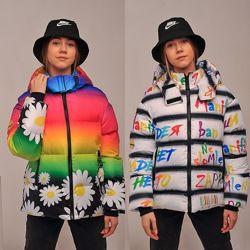 Куртка демисезонная радуга 134-164р. 16
