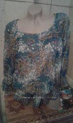 легкая блузочка размер м евро 42