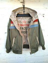 Фирменная двухсторонняя куртка ветровка Benetton