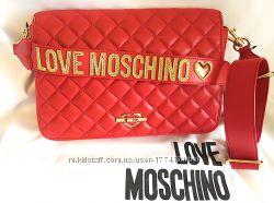 228529e6177e Оригинал. Шикарная кроссбоди Love Moschino на широком ремне, 1500 ...
