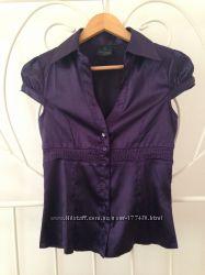 Сатиновая блуза Terranova