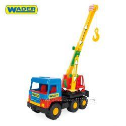 Машина Кран Middle truck, в пак. 3516см, ТМ Wader 39226
