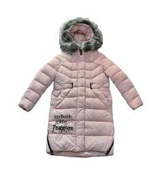 Пальто для девочки KIKO зима 4516