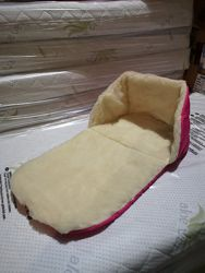 Матрасик сиденье в санки разные цвета