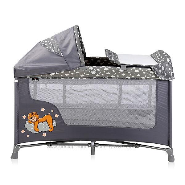 Кровать-Манеж Lorelli San Remo 2L Plus