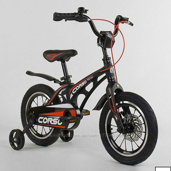 Велосипед 14 магниевая рама corso mg-14 s 499