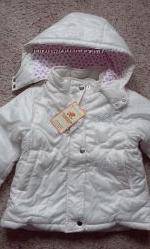 Распродажа курточек для девочек. Рост  98 - 116 см.