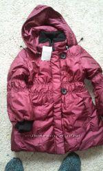Распродажа. Зимнее пальто на девочку. Рост 116 см.