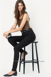 Новые джинсовые леггинсы Next 10 long