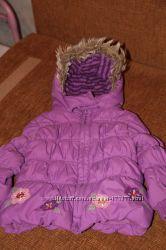 Деми куртки  на девочку 2-3 года в отл. состоянии